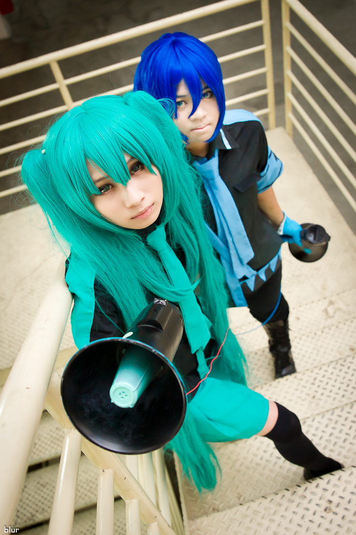 Vocaloid, Eager Love Revenge Hatsune Miku by Suan Kaito by Huko